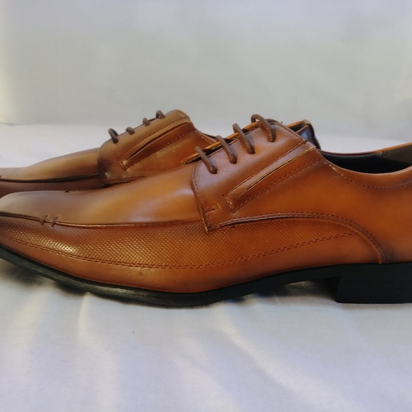 bonafini Other - Bonafini Loafers lace up dress shoe 11 cognac